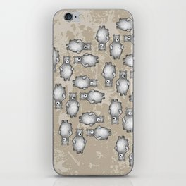 grizzly bear in foliage iPhone Skin