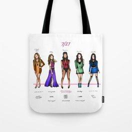 Fifth Harmony: Color album tracks Tote Bag