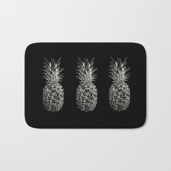 Serious Pineapples Bath Mat