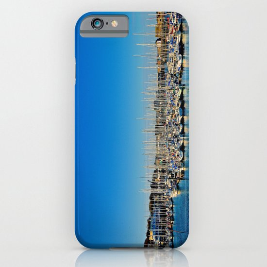 The Boats of Howth Harbor iPhone & iPod Case