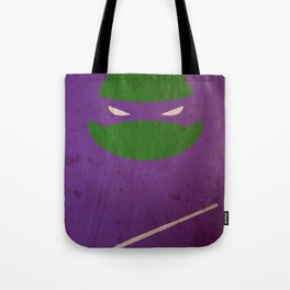 TMNT Donnie poster Tote Bag