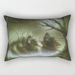 Santa Compaña Rectangular Pillow