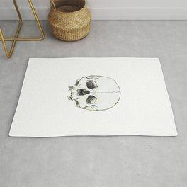 Simple Skull Rug