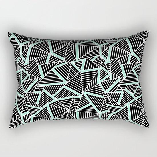 Ab 2 Repeat Mint Rectangular Pillow