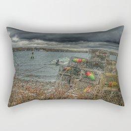 Dutch harbor Rectangular Pillow
