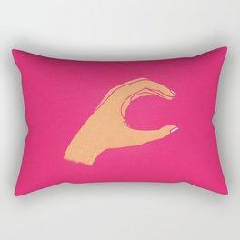 Lowercase C Rectangular Pillow