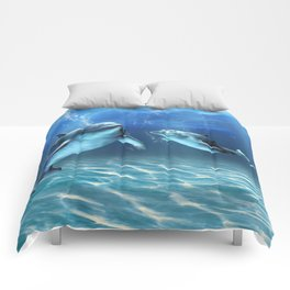 Dolphin Dream Comforters