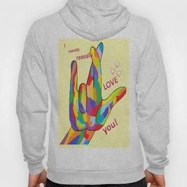 ASL I Really REALLY Love You! Hoody