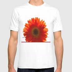 SUNNY White MEDIUM Mens Fitted Tee
