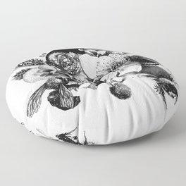 Busy Bee's Floor Pillow