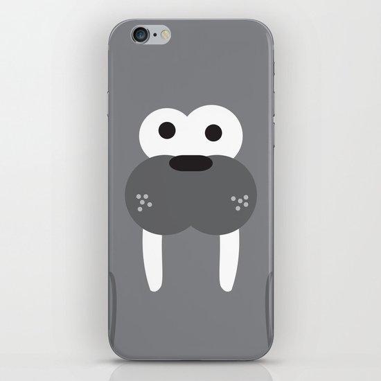Minimal Walrus iPhone & iPod Skin