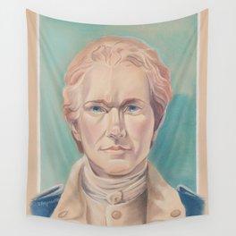 Hamilton in Uniform Wall Tapestry