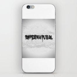 Supernatural monochrome iPhone Skin