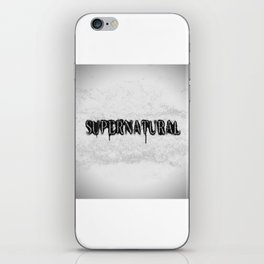 Supernatural monochrome iPhone Skin