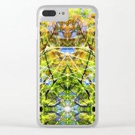GeoBotanica V2 Clear iPhone Case