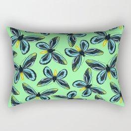Queen Alexandra' s birdwing butterfly pattern Rectangular Pillow