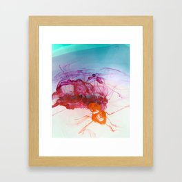Liquid Flow Framed Art Print