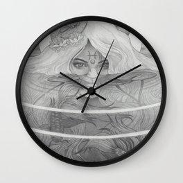 Pisces New Moon Wall Clock
