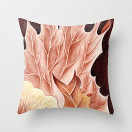 Platycerium Throw Pillow