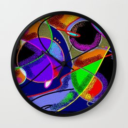 New Discoveries Wall Clock