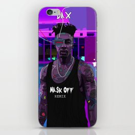Mask Off iPhone Skin