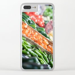 Pikes Market 7 Clear iPhone Case