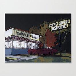 Waffle House Canvas Print