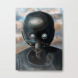 K2-SO Portrait Metal Print