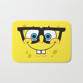 Spongebob Nerd Face Bath Mat