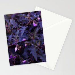 Purple Nettles Stationery Cards