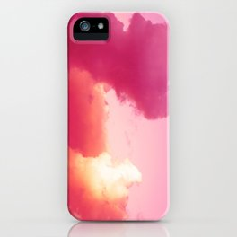 The battle of the light and shadow iPhone Case