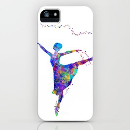 Dance First, Think Later iPhone Case