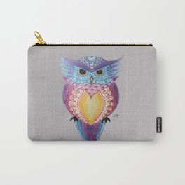 Henna Owl Carry-All Pouch