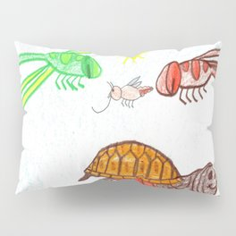 Turtle Day Pillow Sham
