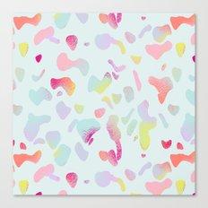 Sorbet drops Canvas Print