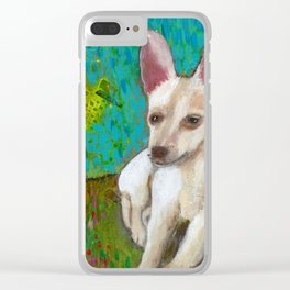 Chihuahua Love Clear iPhone Case