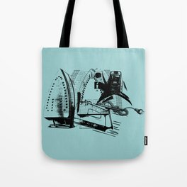 ELECTRIC IRON GRAPHIC  Tote Bag