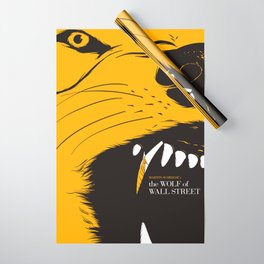The Wolf of Wall Street | Fan Poster Design Wrapping Paper