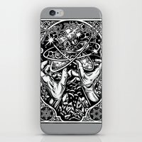 vonnegut iPhone & iPod Skins featuring cat's cradle - vonnegut by miles to go
