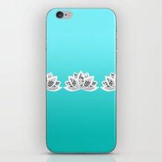 blue lotus iPhone & iPod Skin