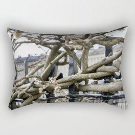 Hug the Fence Rectangular Pillow