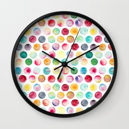 Whimsical Orchard Wall Clock