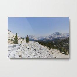 Yosemite National Park - Olmsted Point Metal Print