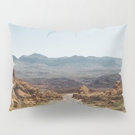 On the Desert Road Pillow Sham