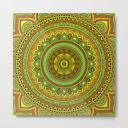 Hippie mandala 88 Metal Print