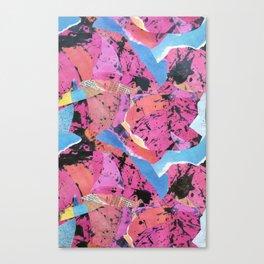 Jagged Canvas Print