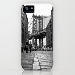 Manhattan Bridge Dumbo Brooklyn iPhone Case