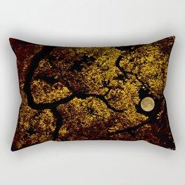 moonlit canopy Rectangular Pillow