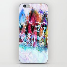 A Home For All Seasons iPhone Skin