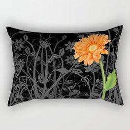 Gerbera Daisy #4 Rectangular Pillow